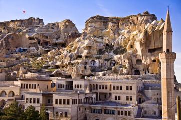 Ville d'Urgup - Cappadoce, Turquie