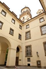 Courtyard Corner Czech Republic