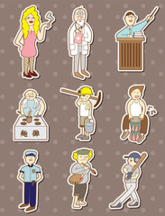 people stickers