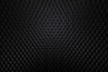 Detailed Black Plastic Background