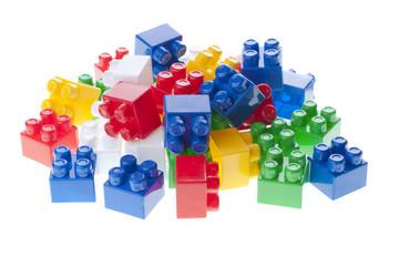 Plastic constructor bricks