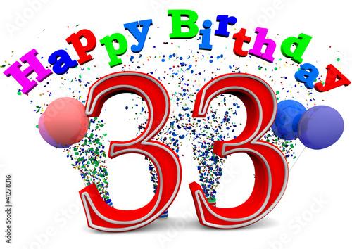 Поздравление прикольные с днем рождения 33 года женщине