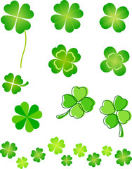 Four Leaf Clover Set