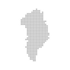 Pixelkarte - Grönland