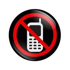 No Cell phone button