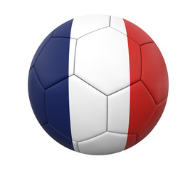 3D soccer ball france