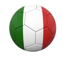 3D soccer ball italy