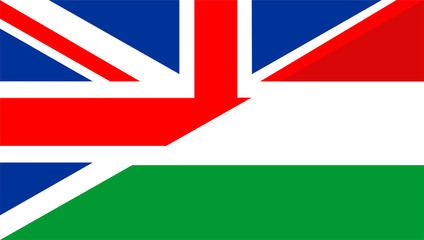 uk hungary flag