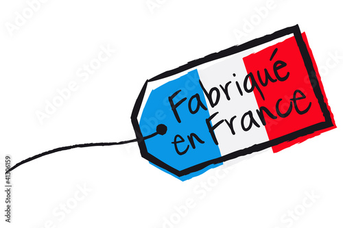 Etiquette fabriqu en france fichier vectoriel libre - Televiseur fabrique en france ...