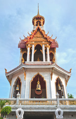 Bell tower in  Bangkok, Thailand