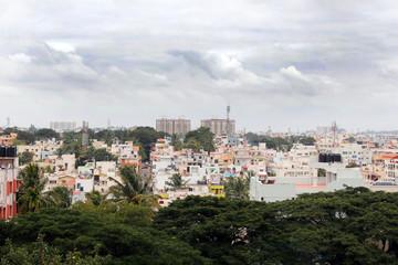 Bangalore city southern area - a concrete jungle