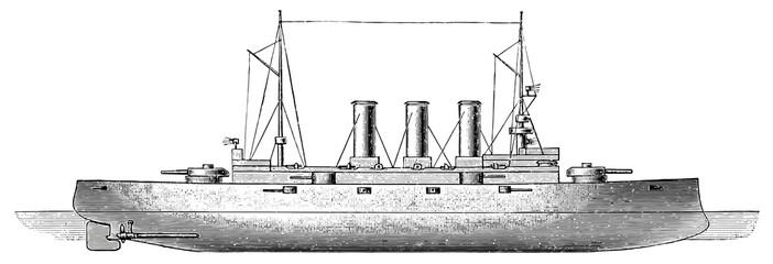 Battleship SMS Erzherzog Karl, 1903