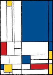 Cubist painting