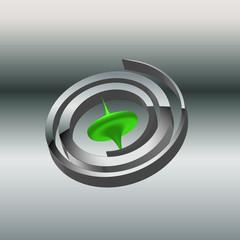 Kreiselkompass gruen