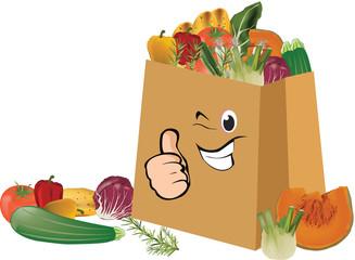 spesa di verdura