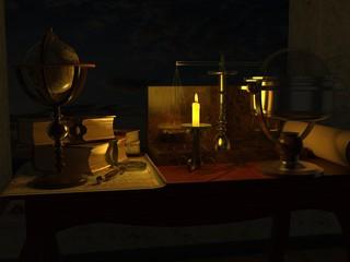 Schreibtisch um 1700