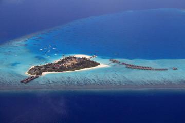 Resort Island of Maldives