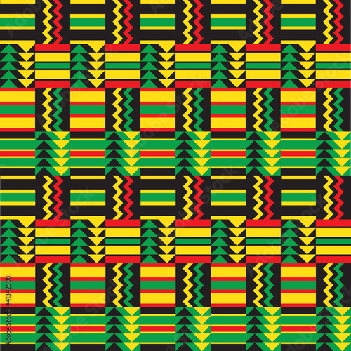Quot African Zig Zag Pattern Quot Stock Image And Royalty Free
