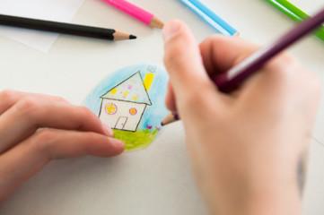 Concept maison et projet