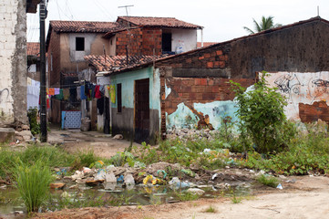 Favela: poverty and neglect