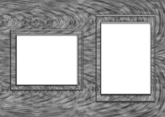 background with frames in the form of squares