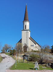 Protestant church in Hanko, Finland