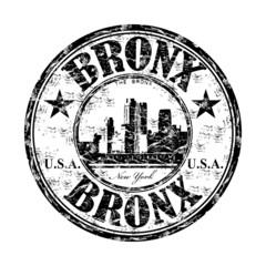 Bronx grunge rubber stamp