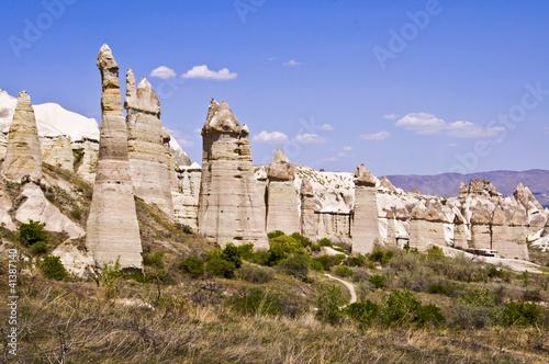 Cheminees De Fees Dans La Vallee De L Amour Cappadoce Turquie