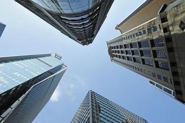 Financial honk konk building