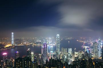 Hong kong from vitoria peak