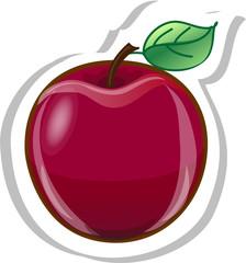 мультфильм яблоко