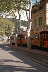 Histor. Straßenbahn, Port de Soller