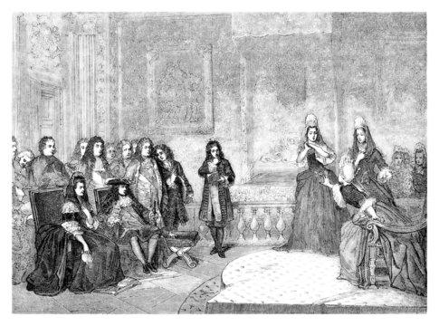 Theatre 17th - Louis XIV - Versailles