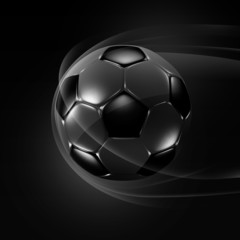 Professional soccer dark background