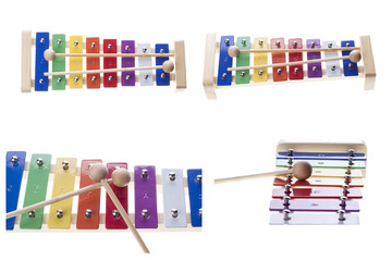 Xylophone isolated