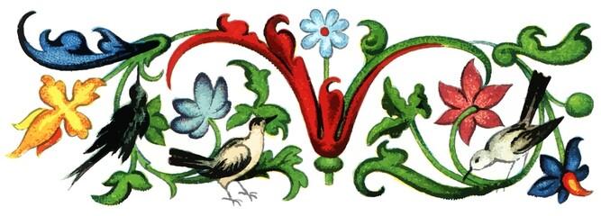 Spine decoration (Germany, 1520)