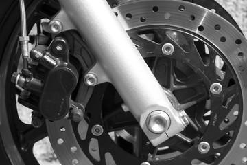 detail of bike - brake