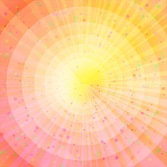 Background abstract orange and yellow