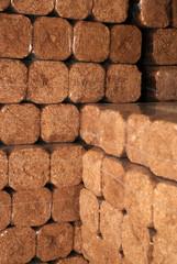 Hard wood briks for heating