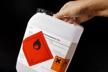 Brennbare Flüssigkeit Gefahrgut