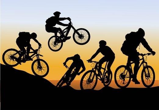 conquer mountain biking