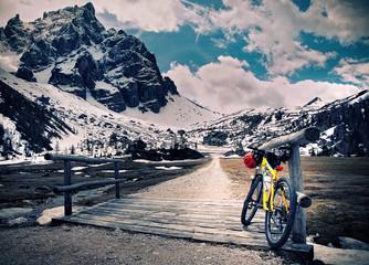 Wall Mural - Escursione in montain bike