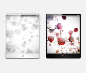tablet pc, vector model