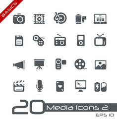 Multimedia Icons // Basics