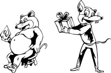 Rat cartoons
