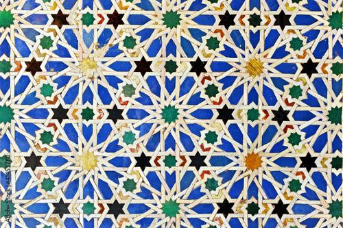 Quot Alicatado Azulejos Mosaico Alc 225 Zar De Sevilla Quot Photo