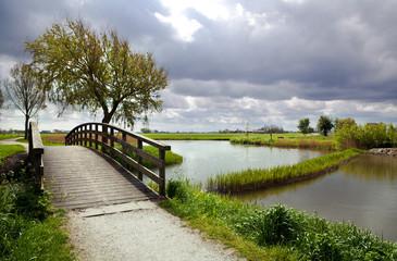 nice wooden bridge