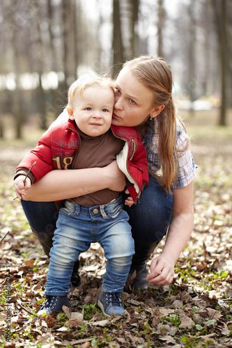 фото с молодой мамой