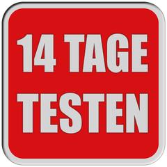 Sticker rot quad rel 14 TAGE TESTEN