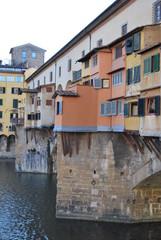 Vista del Ponte Vecchio a Firenze